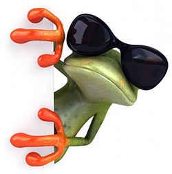 Крутой лягушонок