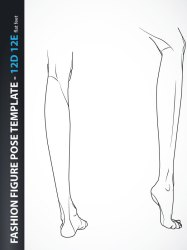 template body drawing illustration croquis female