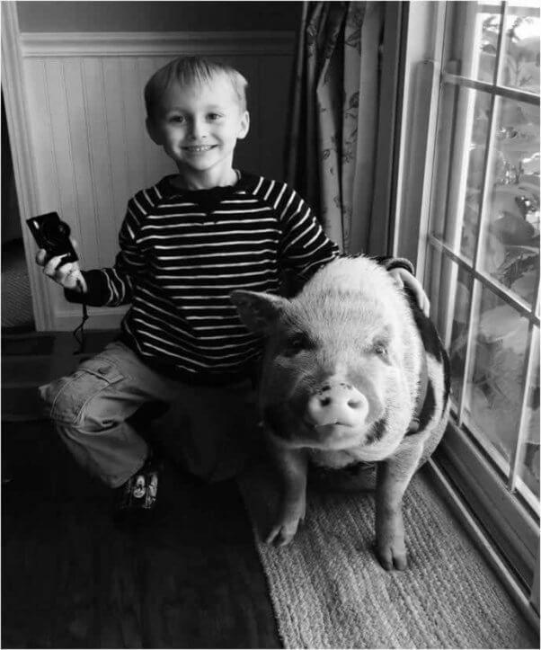 Koa and Miles seem pretty happy, picture courtesy of PETA