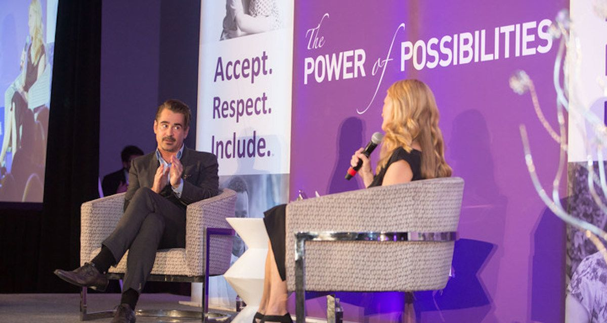 Actor Colin Farrell Helps Raise Awareness for Special Needs Kids and Adults