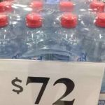 Target Charges Cyclone Victims $72 for Bottled Water