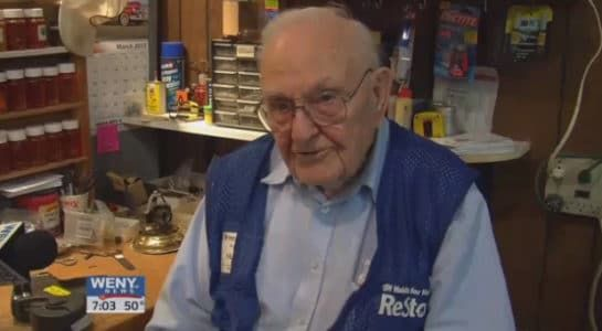100-Year-Old Man Still Volunteers 20 Hours a Week with Habitat for Humanity