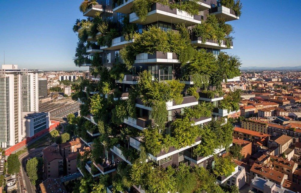 Vegetation to the Rescue: Vertical Forests Cleaning Up Our Air