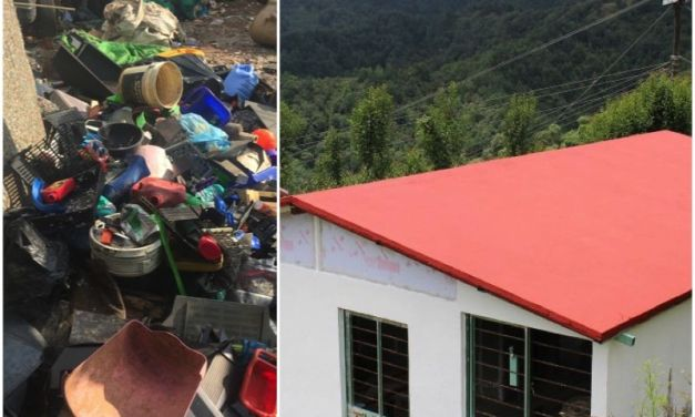 These Brilliant Houses in Mexico are Made Out of Plastic Trash