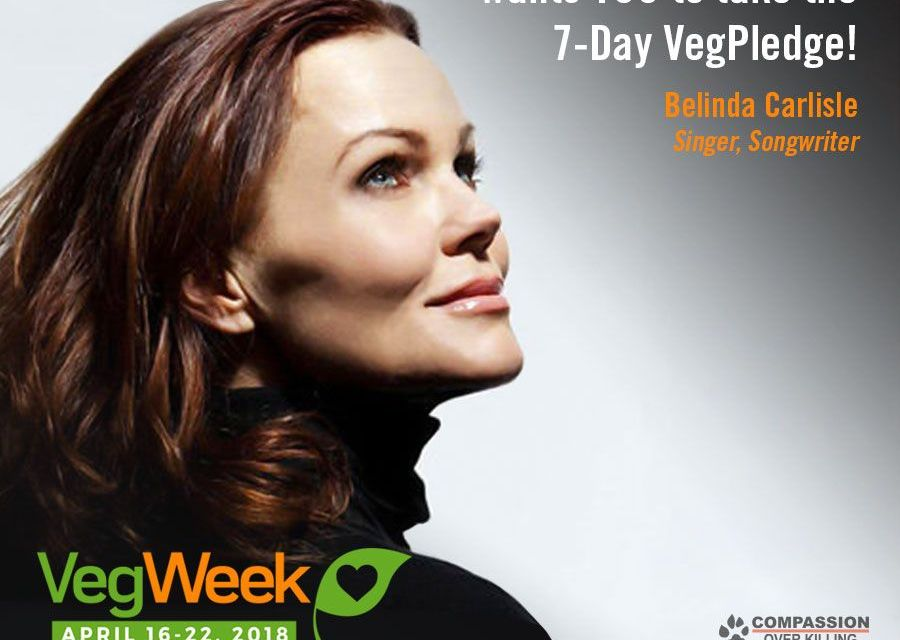 These Celebs Are Eating Plant-Based for VegWeek; Take the Pledge and Join Them