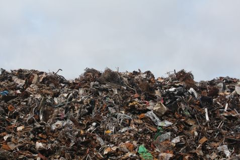 disposal dump garbage