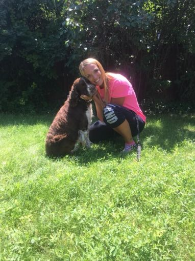 Lost dog finds forever home with rescuer