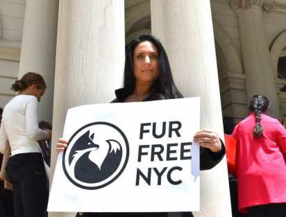 nina jackel lady freethinker fur free nyc