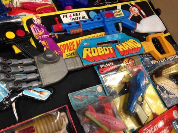 Robots op vintagebeurs