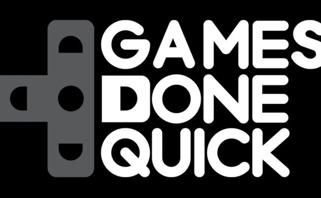 Games Done Quick Logo Lady Geek Girl And Friends