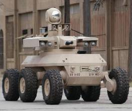 six-wheeled soldier, MULE