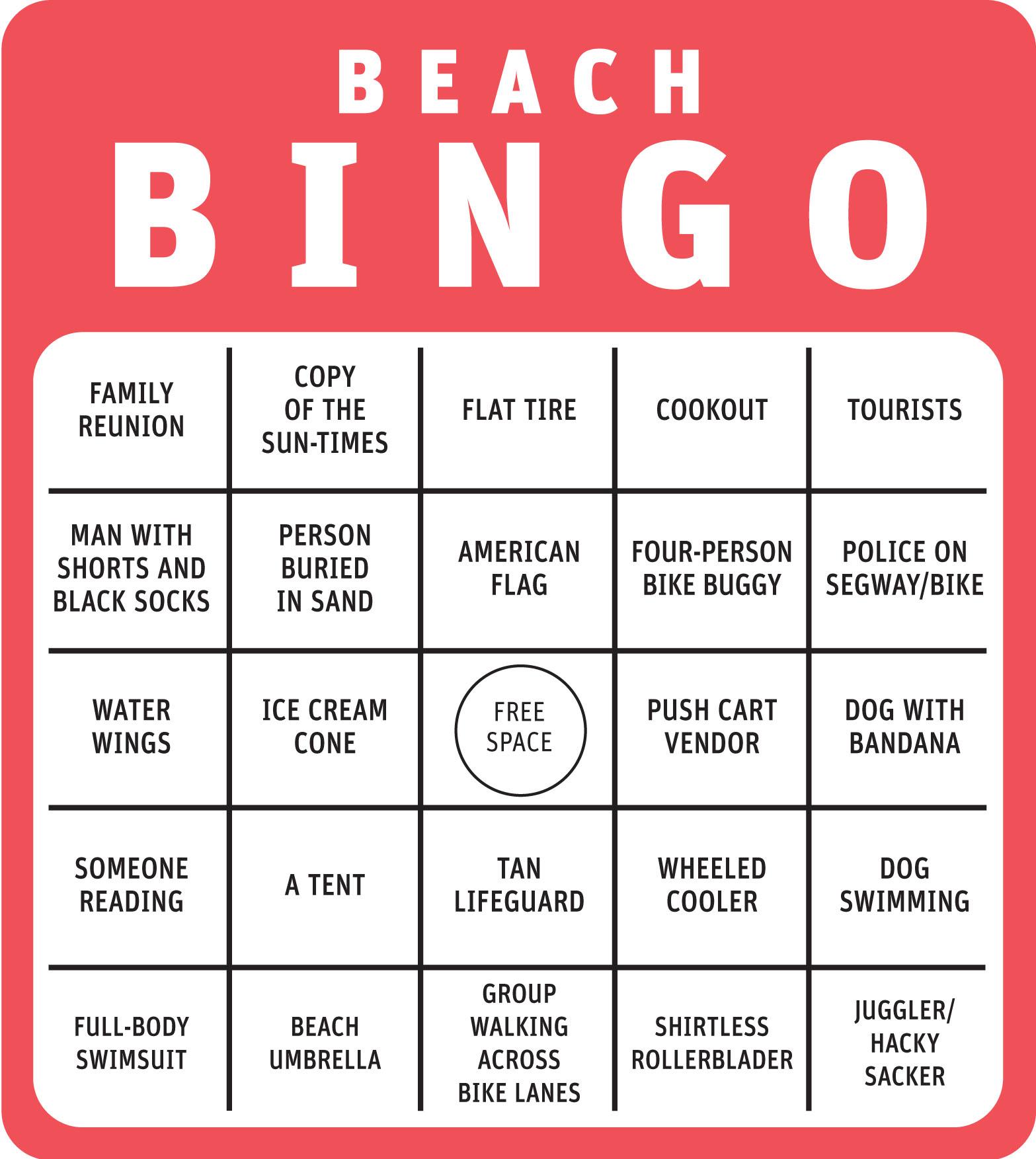 Beach Blanket Bingo Lady Goo Goo Gaga