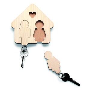 alt-porte-clé-bois-maison-home-sweet-home-couple