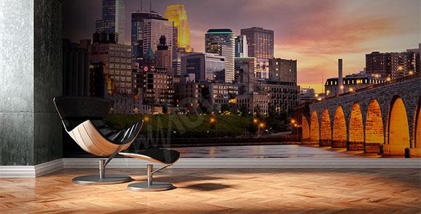 alt-papier-peint-mural-NY-couché-soleil-My-Loview