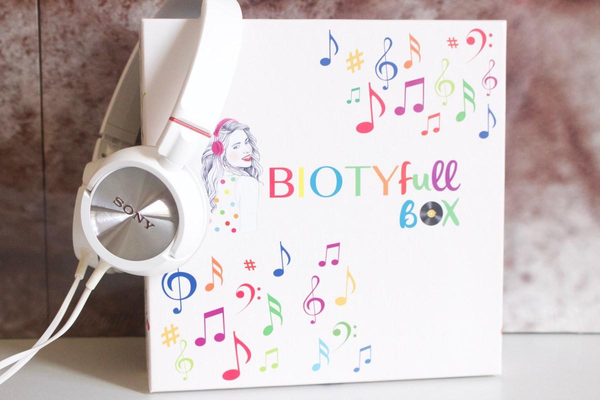En Musique avec la Biotyfull Box !