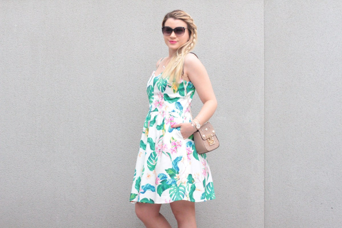 Ma jolie robe estivale fleurie #NafNaf