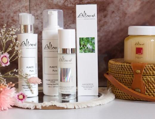 Les soins cosmetiques bio altearah