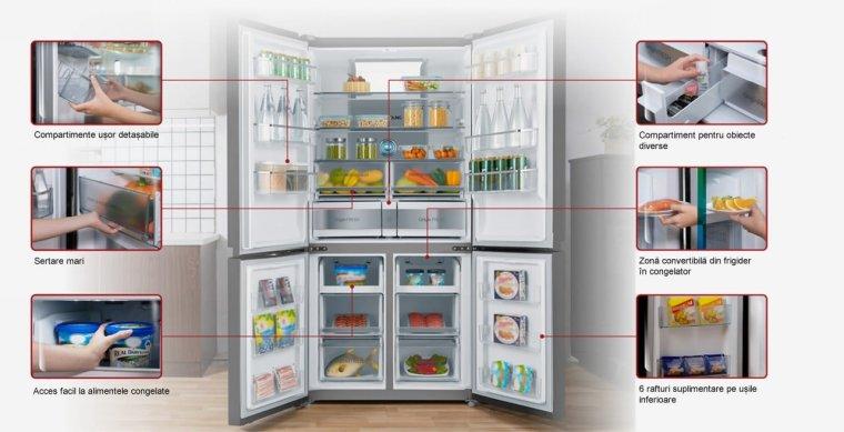 Dimensiune mare aparate frigorifice Toshiba