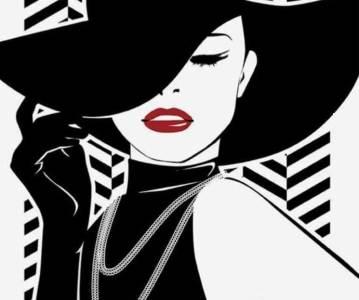 Lady in Black la Spring SuperBlog 2021