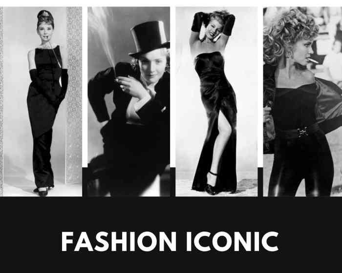 Fashion iconic