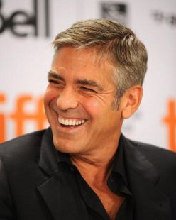 """Actor George Clooney speaks onstage at the """"Men Who Stare At Goats"""" press conference held at the Sutton Place Hotel on September 11, 2009 in Toronto, Canada.""""Men Who Stare At Goats"""" Press Conference - 2009 Toronto International Film FestivalSutton Place HotelToronto, ON CanadaSeptember 11, 2009Photo by George Pimentel/WireImage.comTo license this image (58300896), contact WireImage.com"""