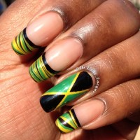 Jamaicas Emancipation Day Nails 2013 | Lady Lacquer