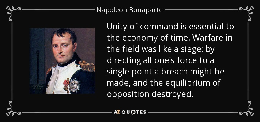 quote-unity-of-command-is-essential-to-the-economy-of-time-warfare-in-the-field-was-like-a-napoleon-bonaparte-105-69-69