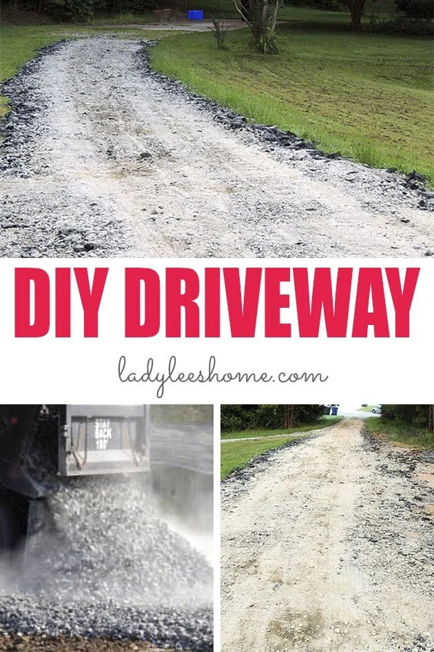 How Much Is A Truck Load Of Gravel : truck, gravel, Cheapest, Driveway, Lee's