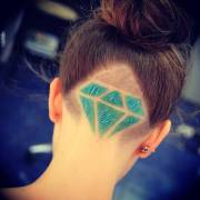 tattoo hairstyle trendy hair tattoos