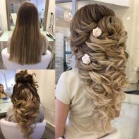 Wedding hairstyles for long hair: Half Up, Half Down