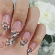 nail art with dotting tool step-step