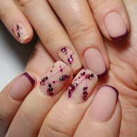 Winter Nail Designs 2018: Cute and Simple Nail Art For ...