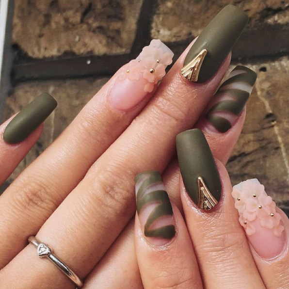 How To Do 3d Acrylic Nail Art For Short Nails Home Of Beauty