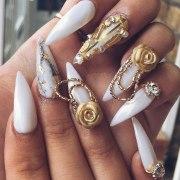 make 3d nail art