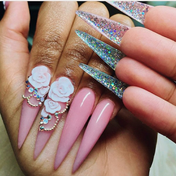 Make 3d Nail Art Design With Tutorial Ladylife