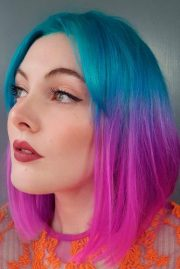 two tone hair color 18