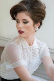 trendy hairstyles bride