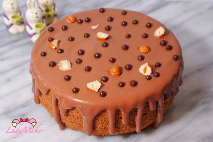 100%黑巧克力戚風蛋糕食譜|可可粉與巧克力磚的替換算法