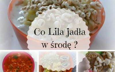 Co Lila jadła w środę? 1