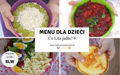 Przepisy dla dzieci BLW – Co Lila jadła? 4