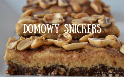 Domowy snickers bez piecznia