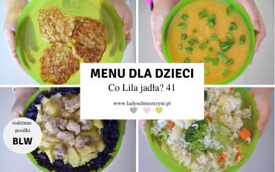 Menu na cały dzień BLW – co Lila jadła? 41