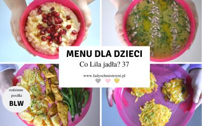 Co Lila jadła w środę? 37 zdrowe przepisy dla dziecka BLW