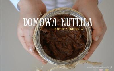 Domowa nutella – krem z batatów