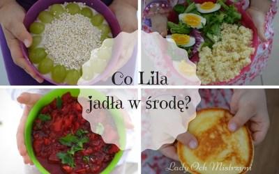 Co Lila jadła w środę? 4