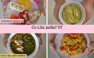 Co Lila jadła? 57 – zobacz nasze menu