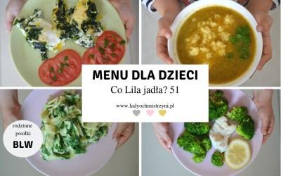Co Lila jadła? 51 – co ugotować dziecku BLW