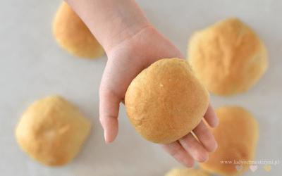 Pączki dla dzieci pieczone w piekarniku