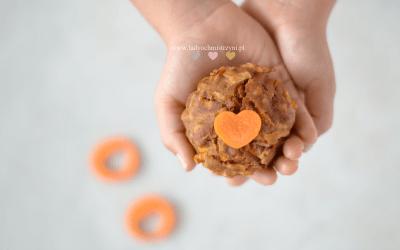 Domowe muffinki marchewkowe dla dzieci BLW