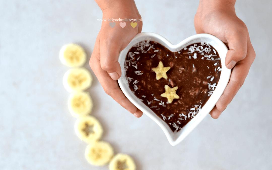 czekoladowa owsianka